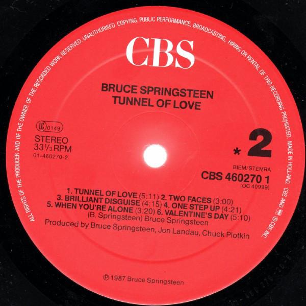 Indexbild 4 - Bruce Springsteen - Tunnel Of Love (LP, Album) Near Mint (NM or M-)- 1445475562